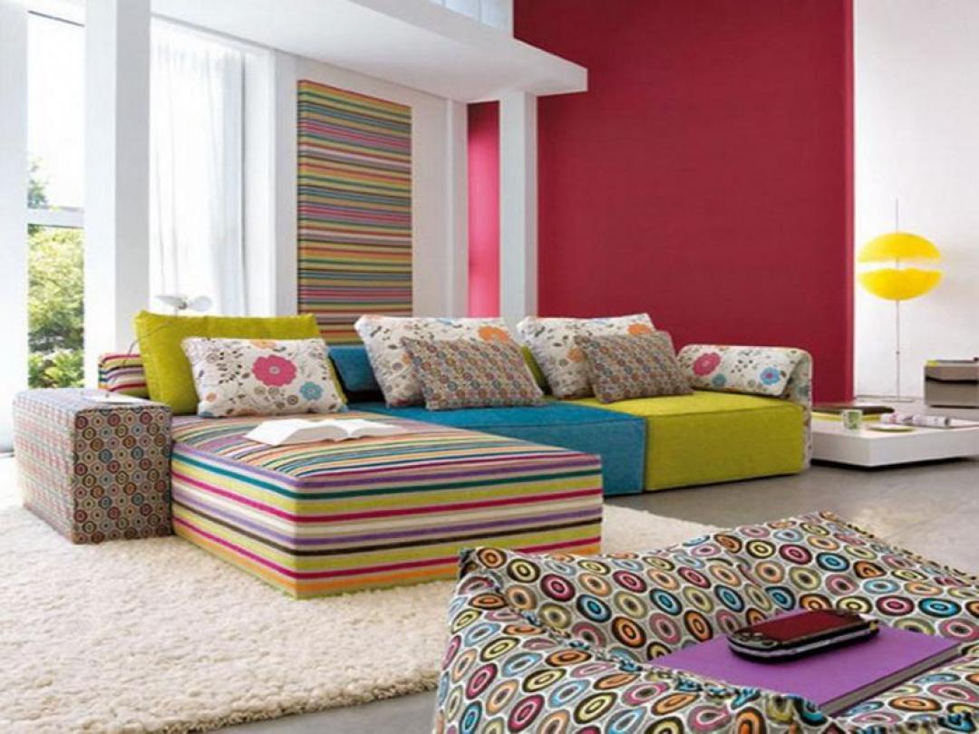 Modesada rengarenk mobilyalar for Salon designer online
